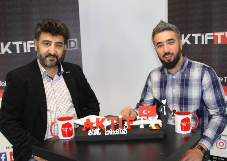 President Apaydın hosted in Aktif TV