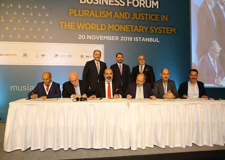 IBF Kongresi Hazine ve Maliye Bakanı Berat Albayrak'ın Katılımlarıyla Gerçekleştirildi