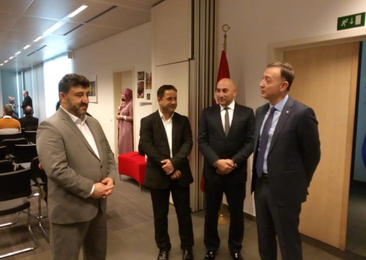 24.11.2019 - MUSIAD Belgium celebrated Teachers Day at the Turkish Embassy